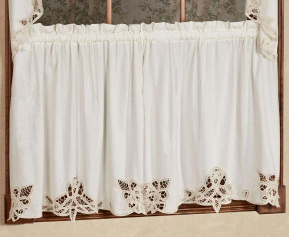 Best Places To Put Your Battenburg Lace Curtains
