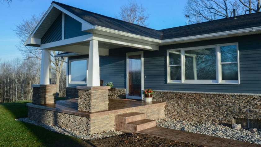 High Quality Trucedar Steel Siding for your Comfortable Home
