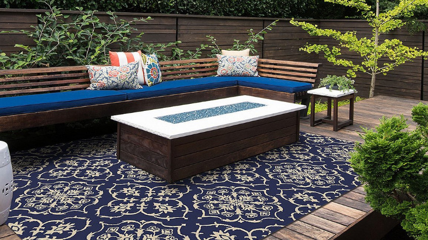 Outdoor Rugs 9x18 With Dirt Resistant