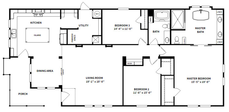 Clayton Homes Lulamae as a Family House with Decent Facilities and Appearance