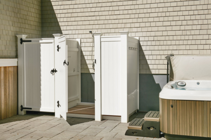 AZEK Outdoor Shower Kits Advantages